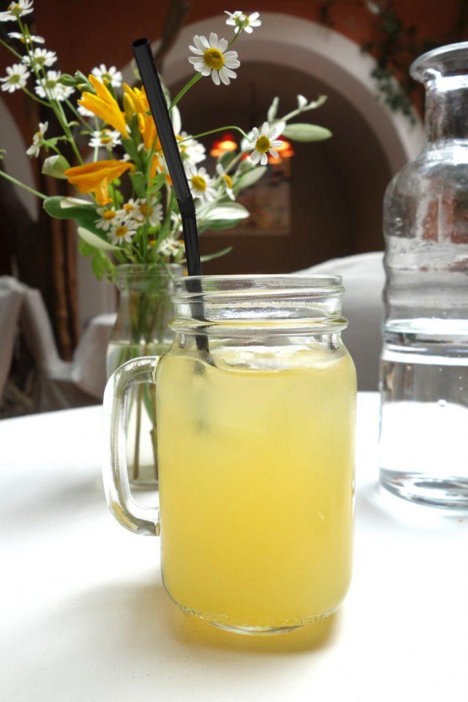 La citronnade maison de la brasserie Le Sud