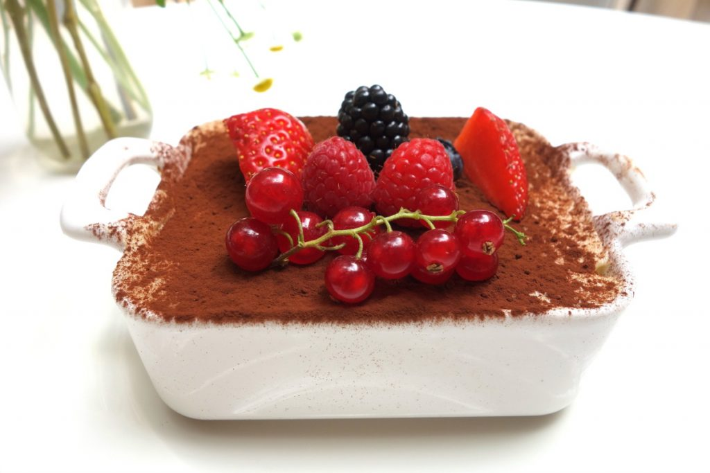 Le Sud : tiramisù fruits rouges