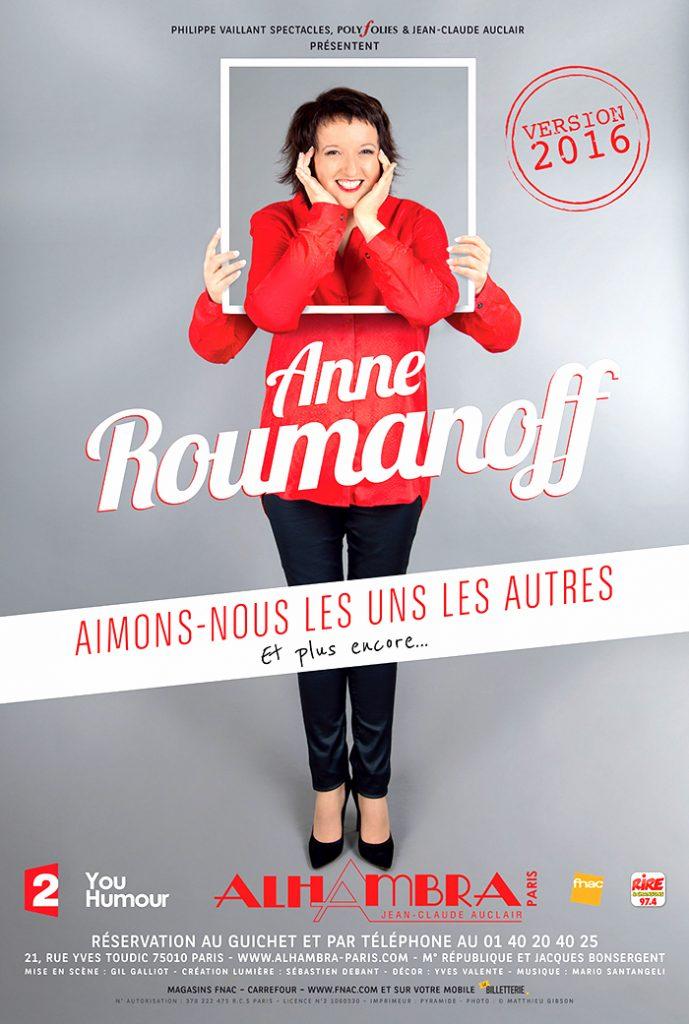 Anne Roumanoff, Aimons-nous les uns les autres et plus encore