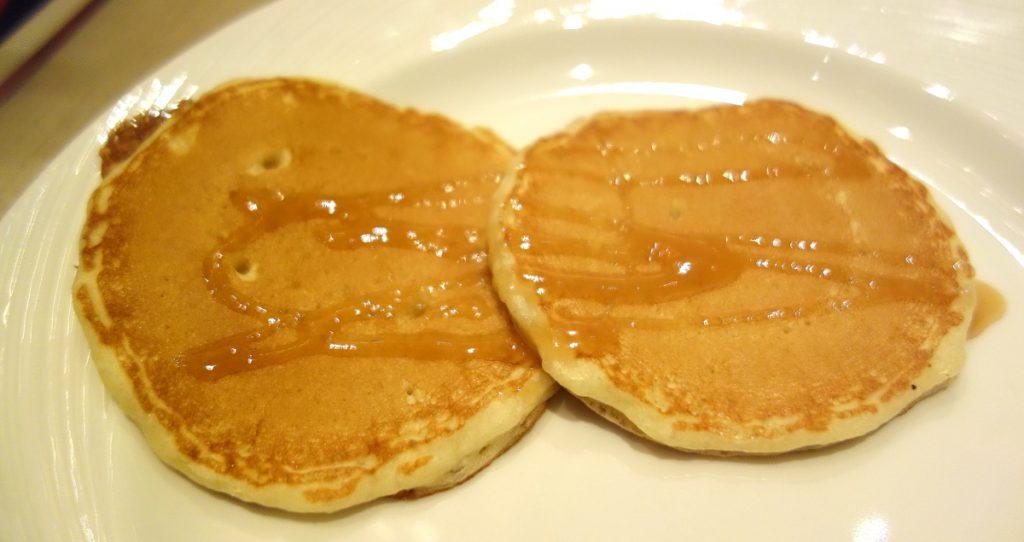 Les pancakes du Wynn Las Vegas