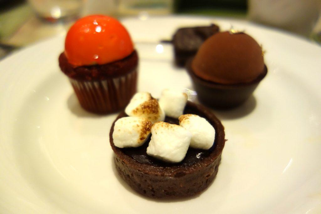 Mes petits desserts au Wynn Las Vegas