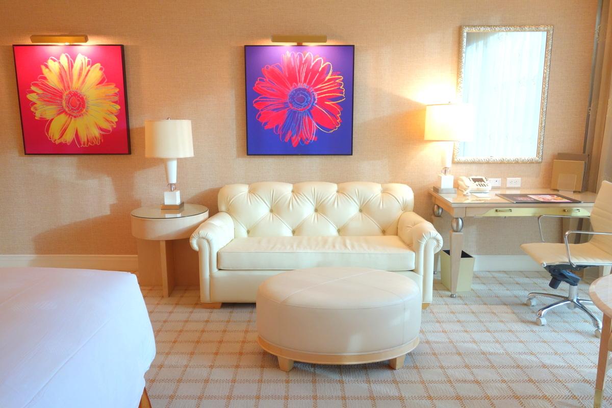 Notre chambre au Wynn Las Vegas