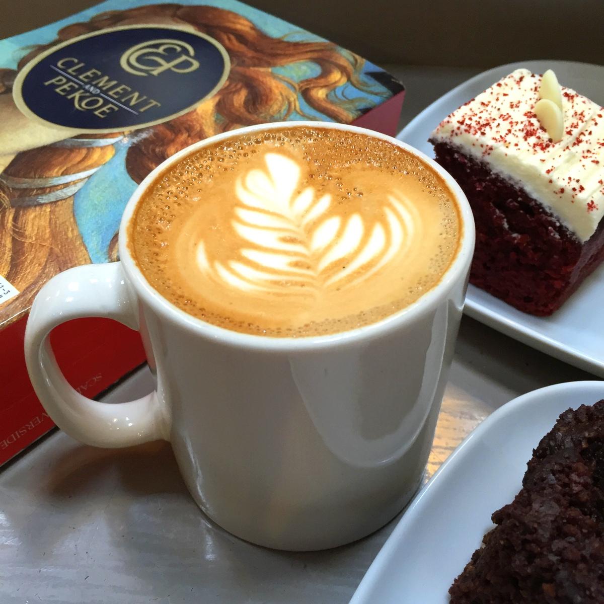 Un café Clement and Pekoe à Dublin - Photo : Le Plus Un