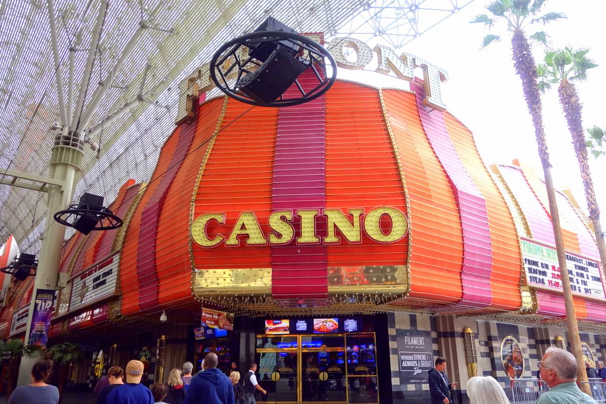 Fremont Street Casino District