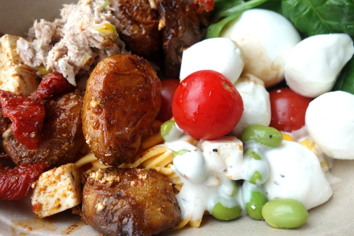 Fresh, bar à salade et pâtisseries à Dublin, en Irlande