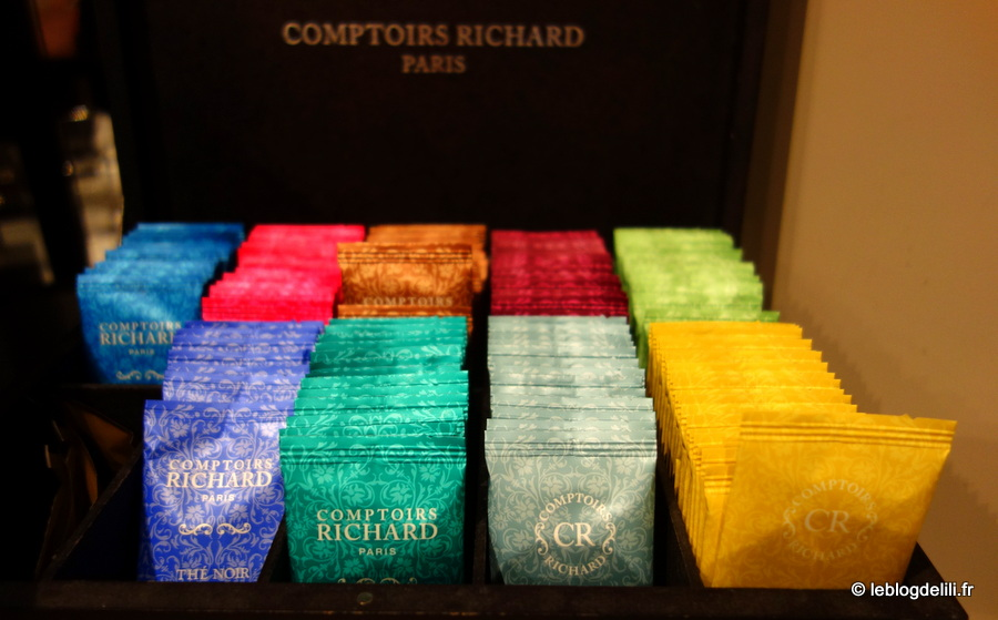 Le choix de thés Comptoir Richard