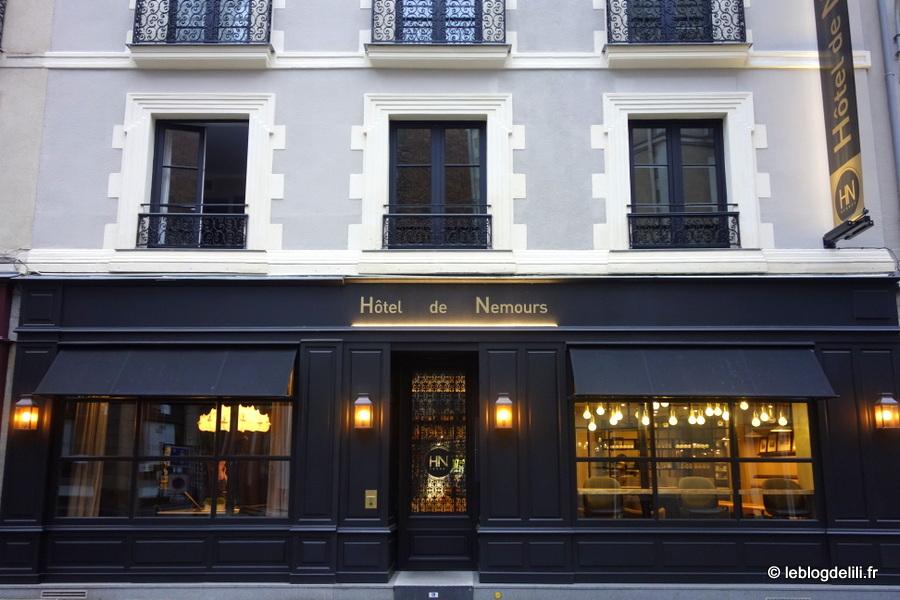 L'hôtel de Nemours, un trois étoiles à Rennes