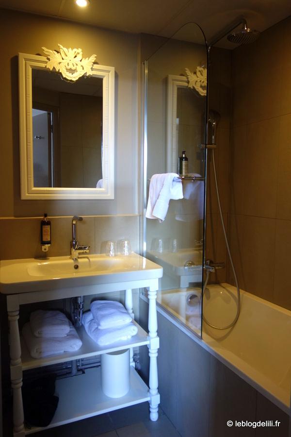 Notre chambre à l'hôtel de Nemours à Rennes