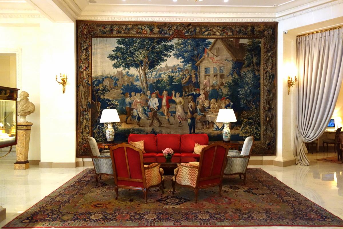 L'hôtel Bristol : tout le charme du luxe parisien