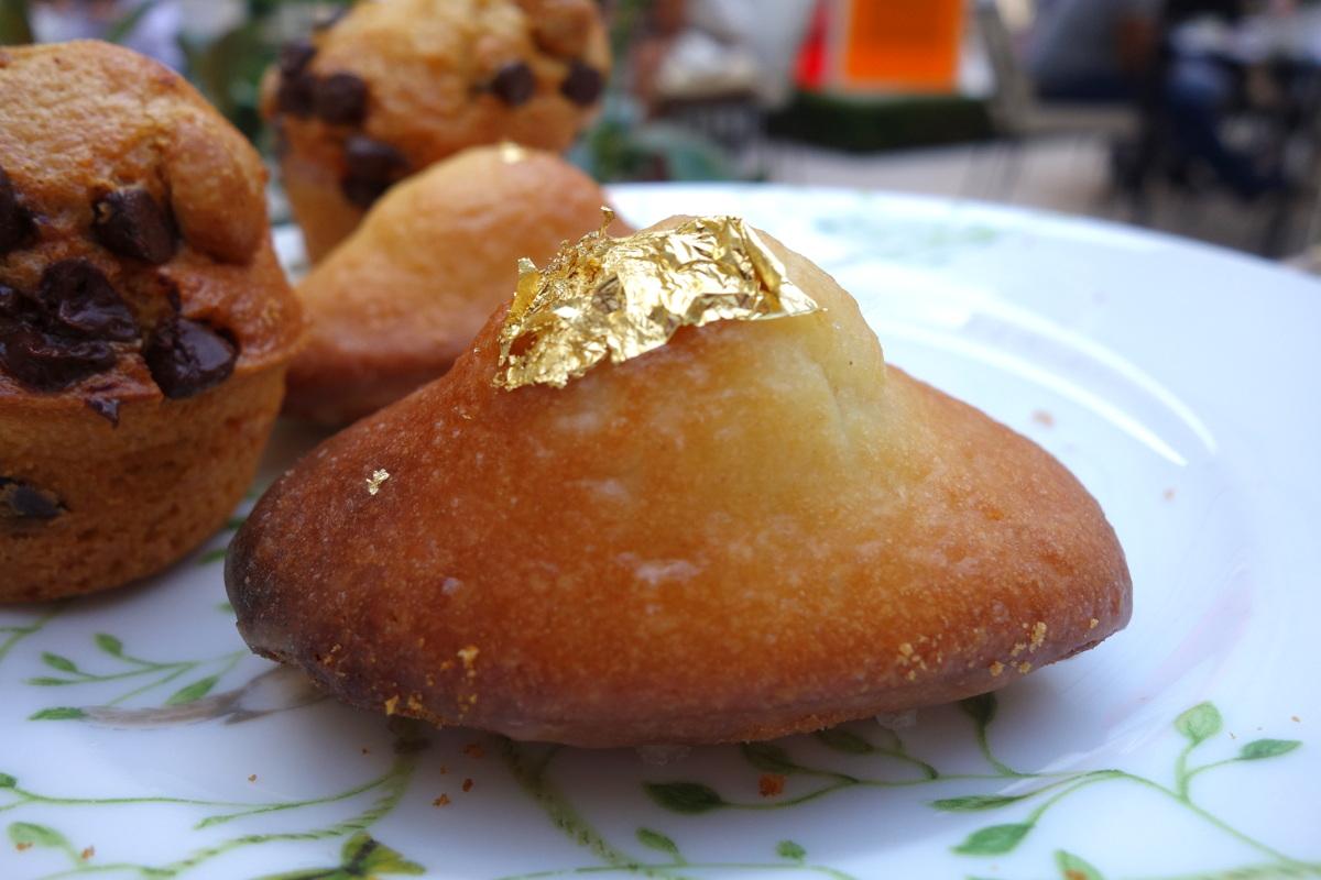 Les madeleines au citron du Bristol