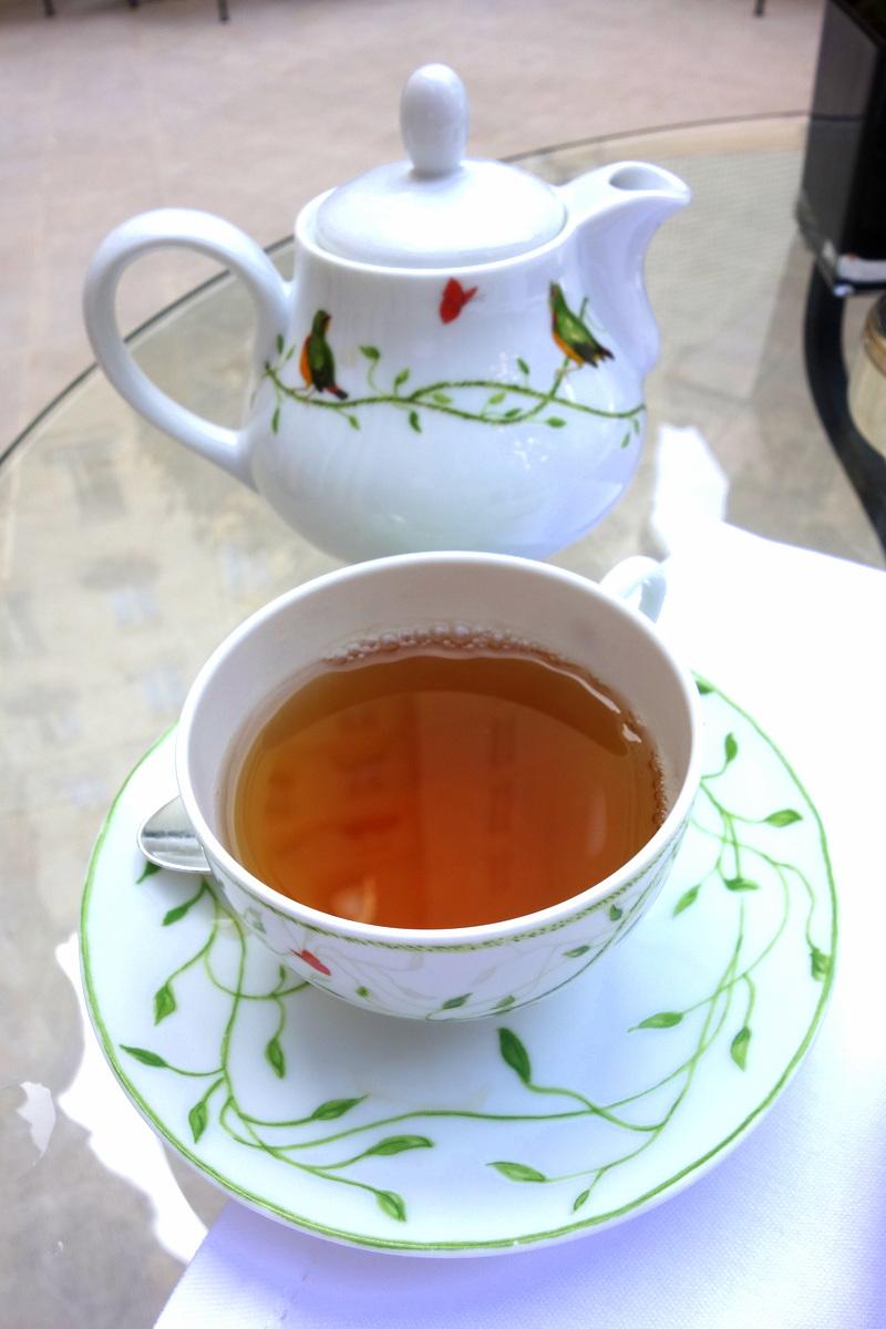 Le tea time du palace parisien Le Bristol