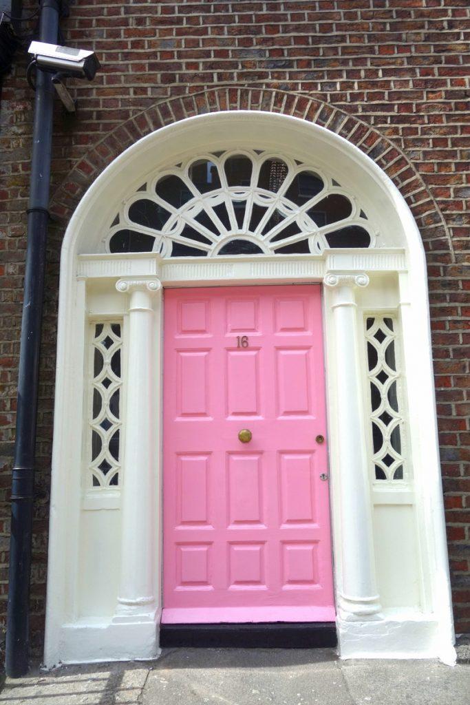 Les jolies portes de Dublin