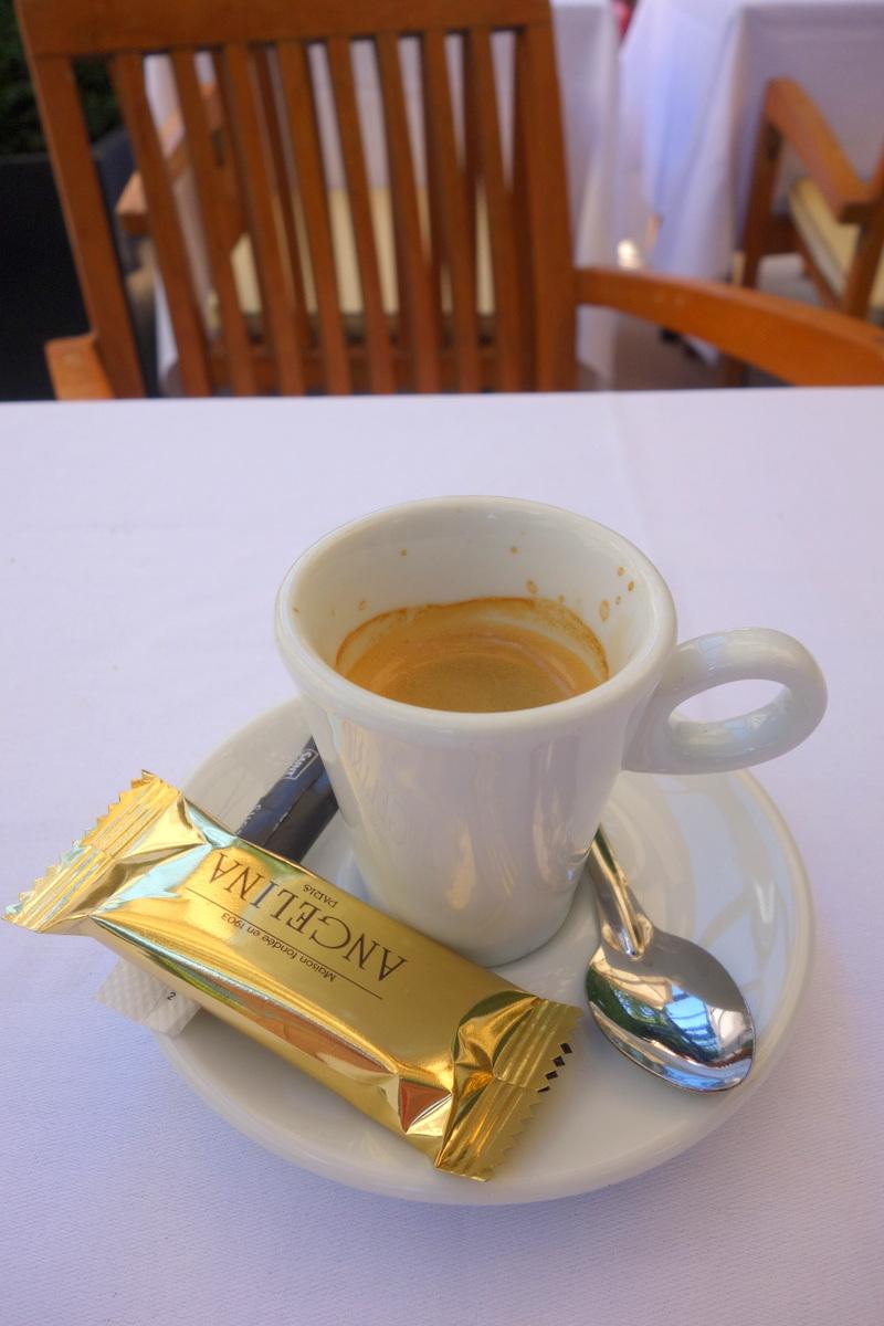 Un café dégusté à La Gare