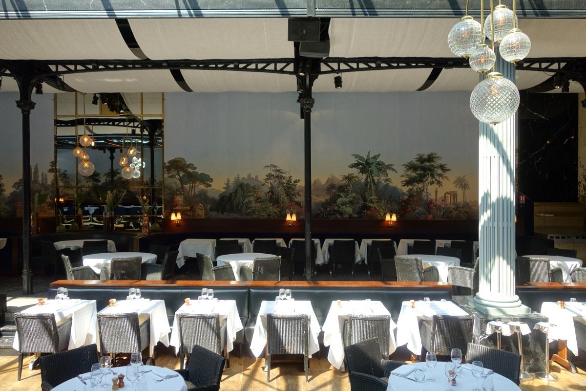 La brasserie La Gare du groupe Bertrand dans le 16e arrondissement parisien