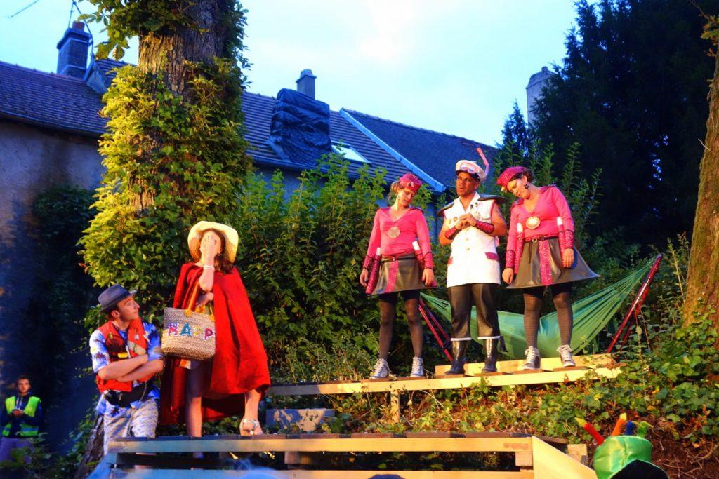 Un spectacle de la compagnie des Hallebardiers à Langres