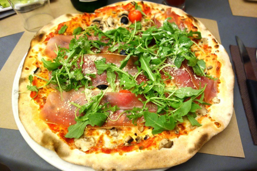 Ma pizza Pignata dégustée à Langres