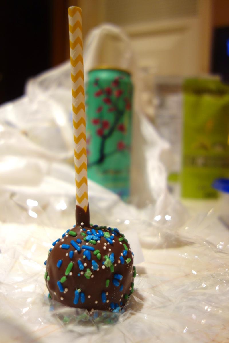 Un pop cake à Las Vegas