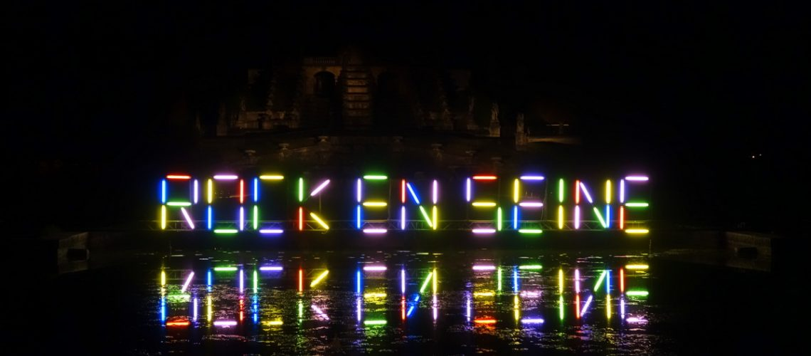 Rock en Seine : les lettres se reflètent