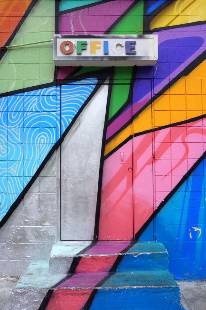 Street art à Downtown Las Vegas