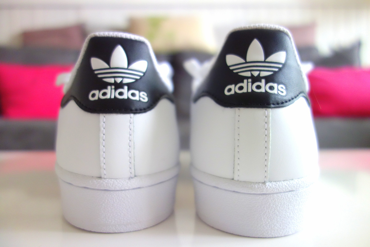 Mes Superstars Adidas noires