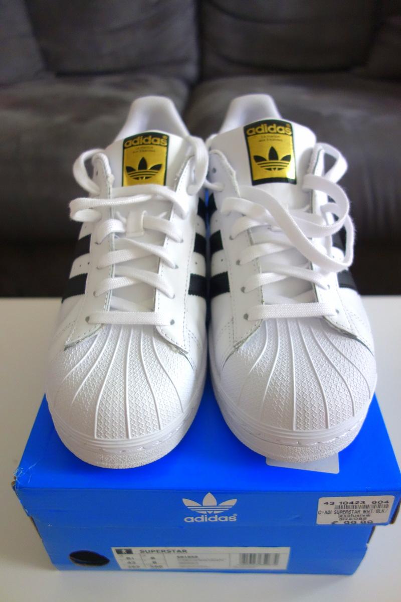 Mes Superstars Adidas noires