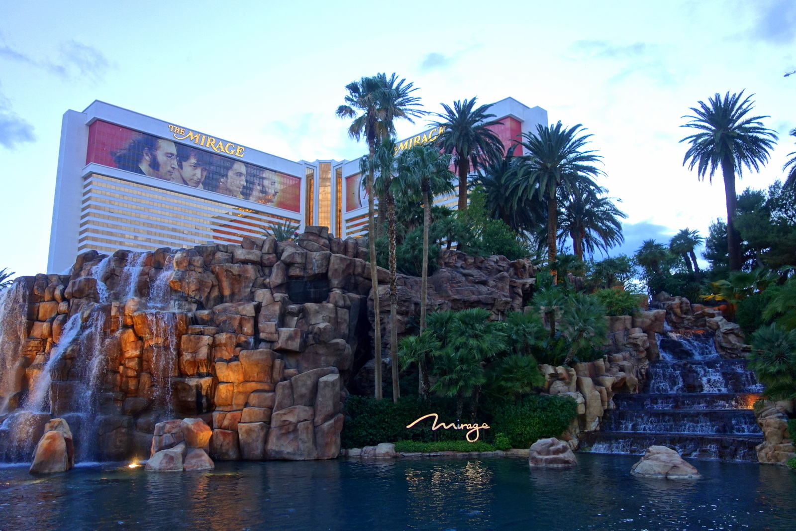 Le Mirage, hotel & Casino à Las Vegas