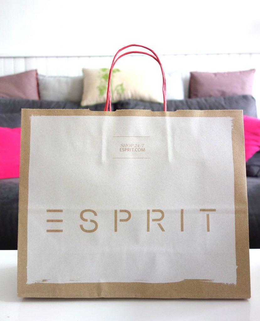 Ambassadrice Vélizy 2 : mon sac shopping Esprit