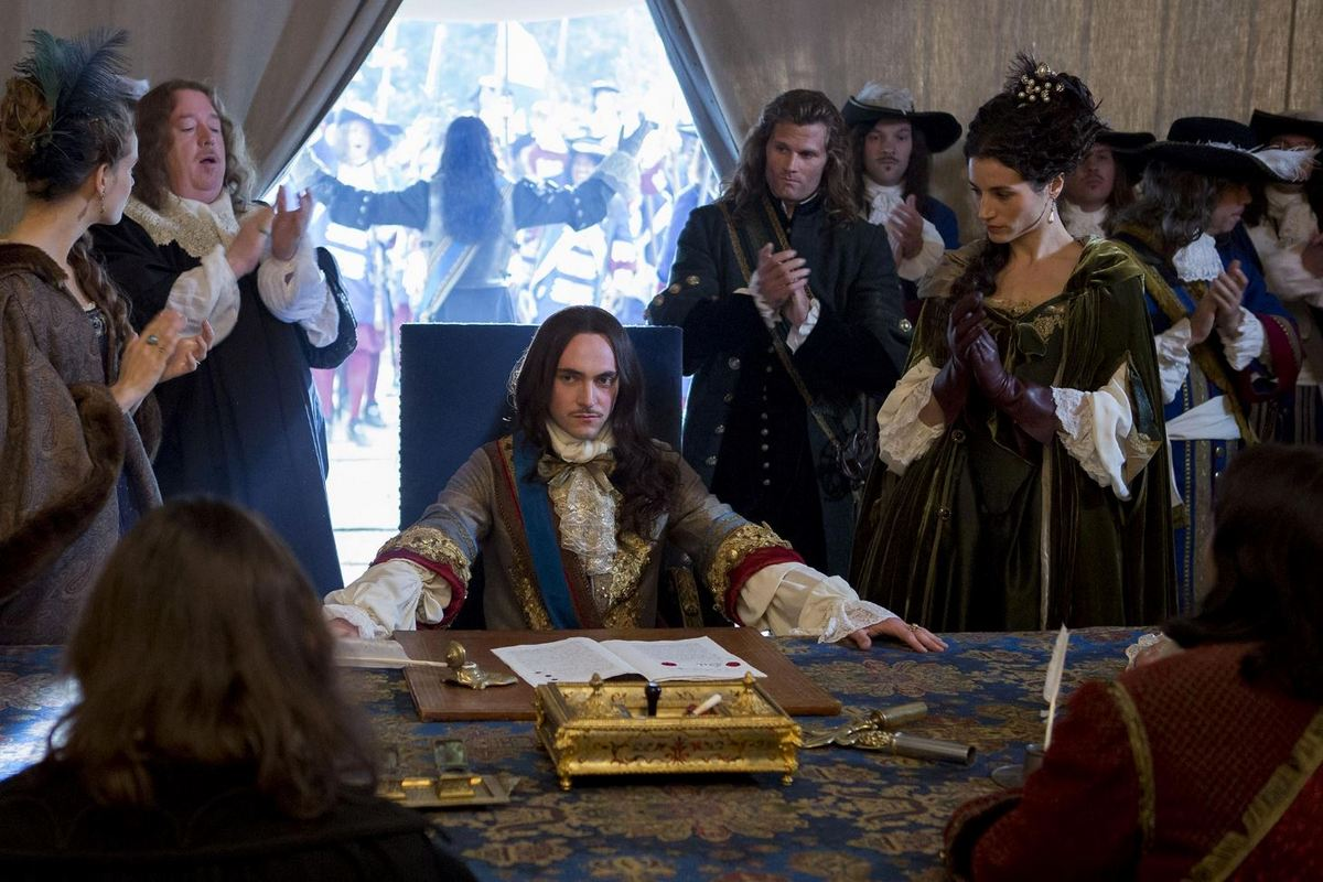 Versailles, la série, saison 1 : Louis XIV