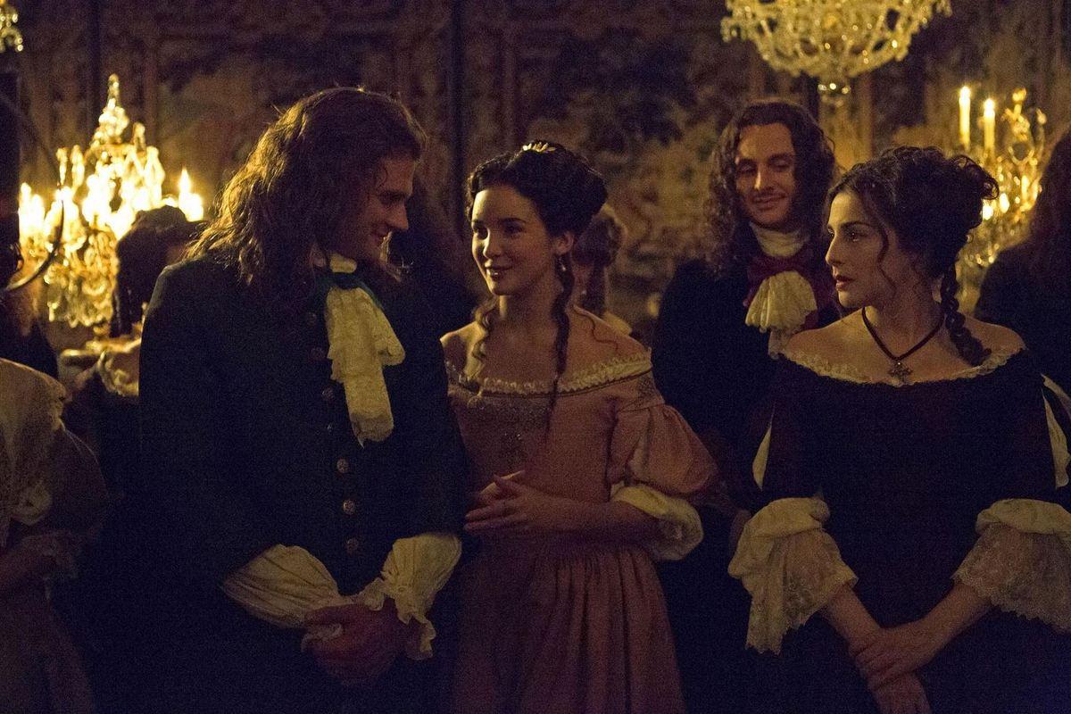 Versailles saison 1 : les courtisans
