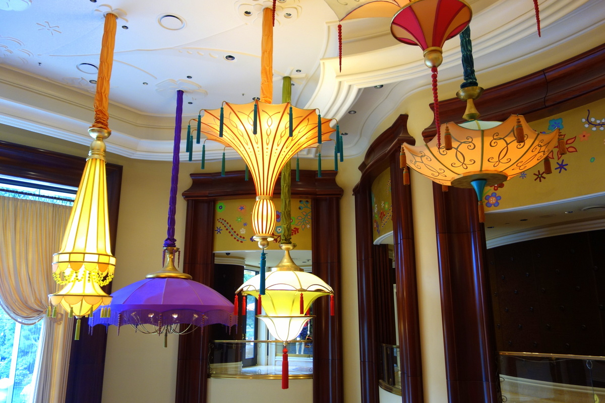 Les lampions du Wynn Las Vegas