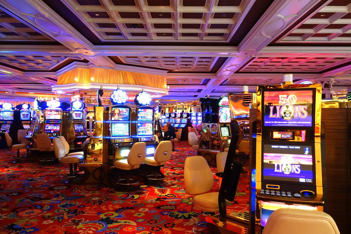 Le Wynn Las Vegas côté casino