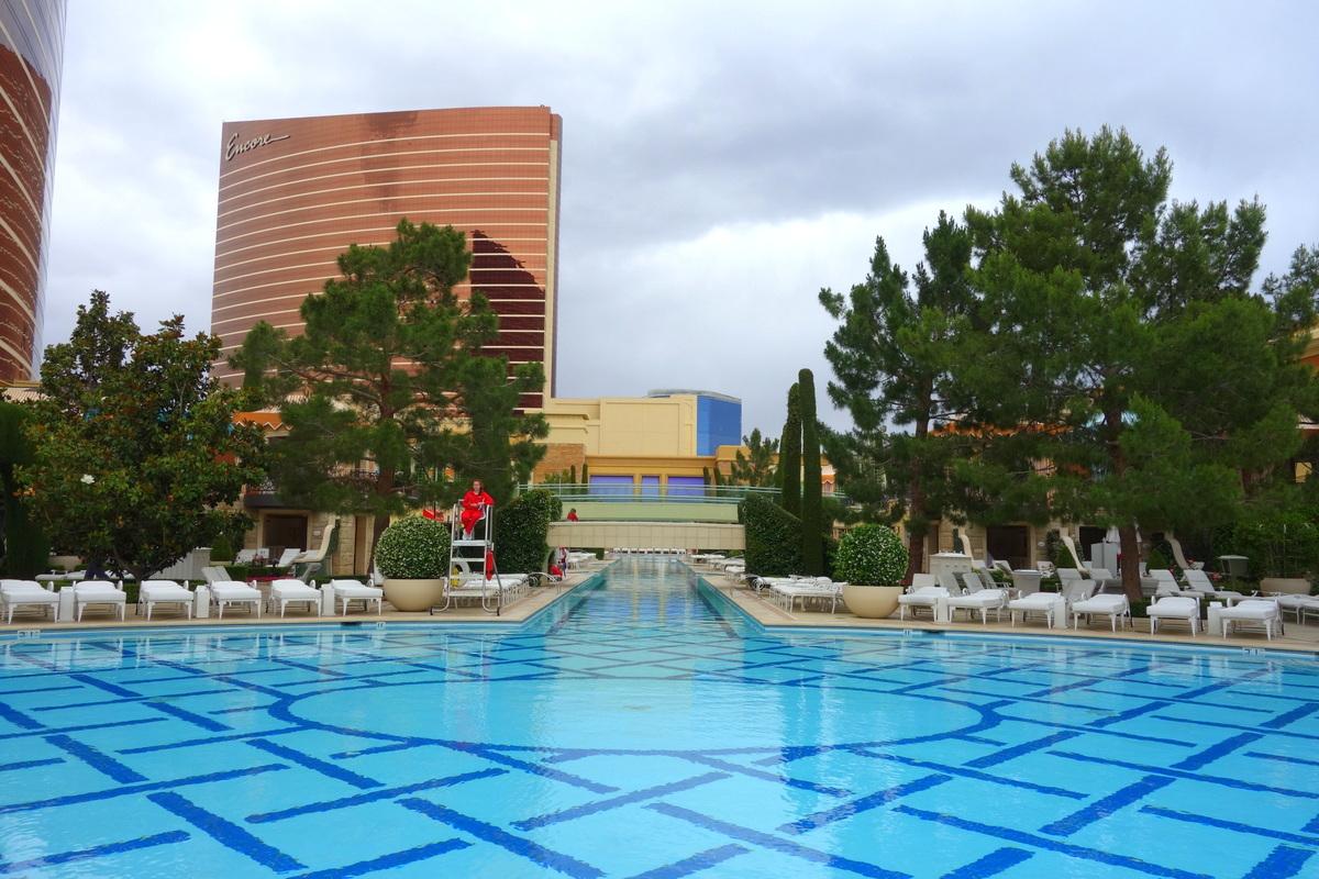 La piscine du Wynn Las Vegas