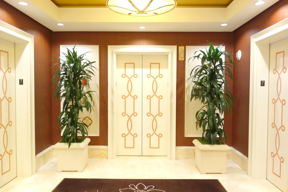 Les ascenseurs de l'hôtel Wynn Las Vegas