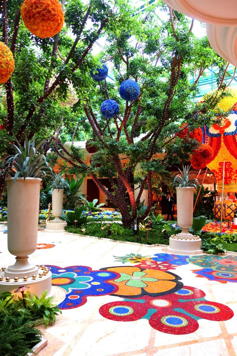 Le jardin intérieur du Wynn Las Vegas