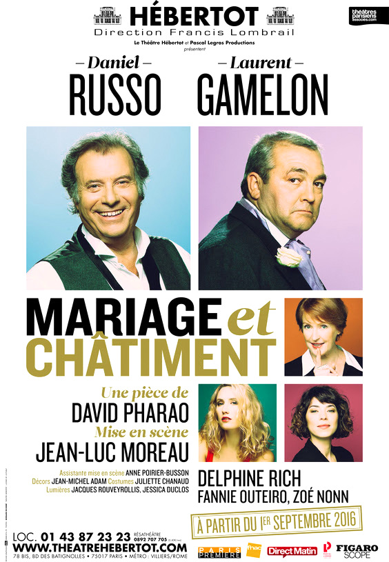 """Affiche de """"Mariage et châtiment"""""""
