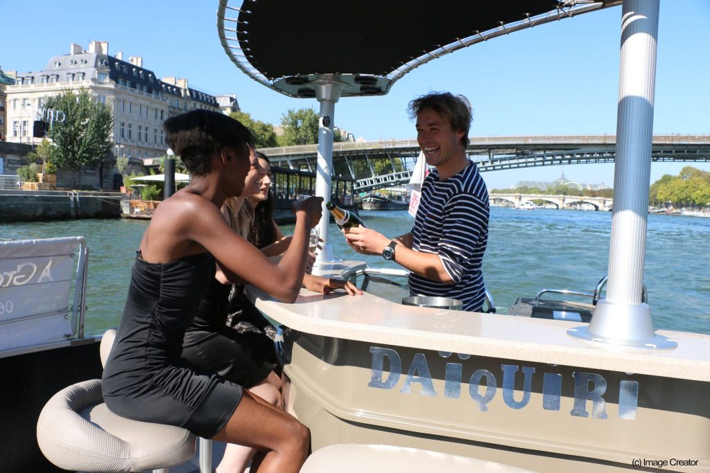 Green river cruises, croisière à Paris