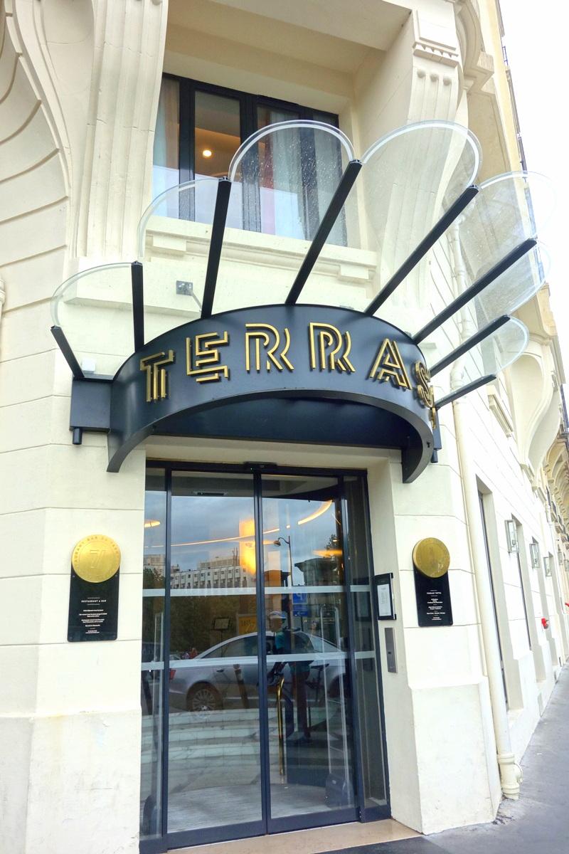 L'hôtel Terrass à Montmartre
