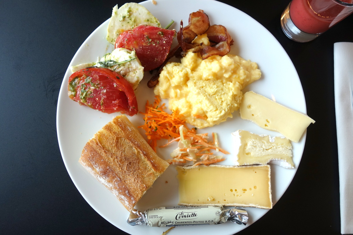 Brunch au Terrass hotel à Paris