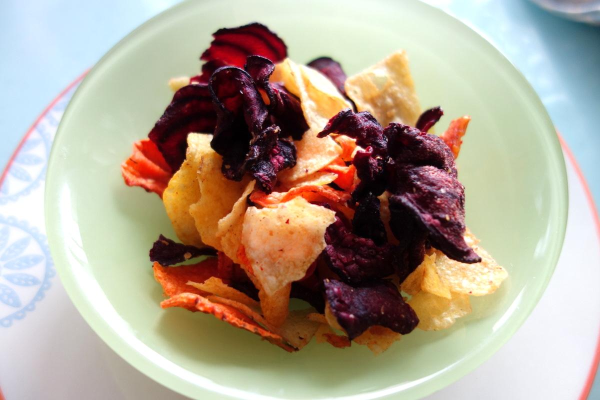 Chips de légumes de la Degustabox