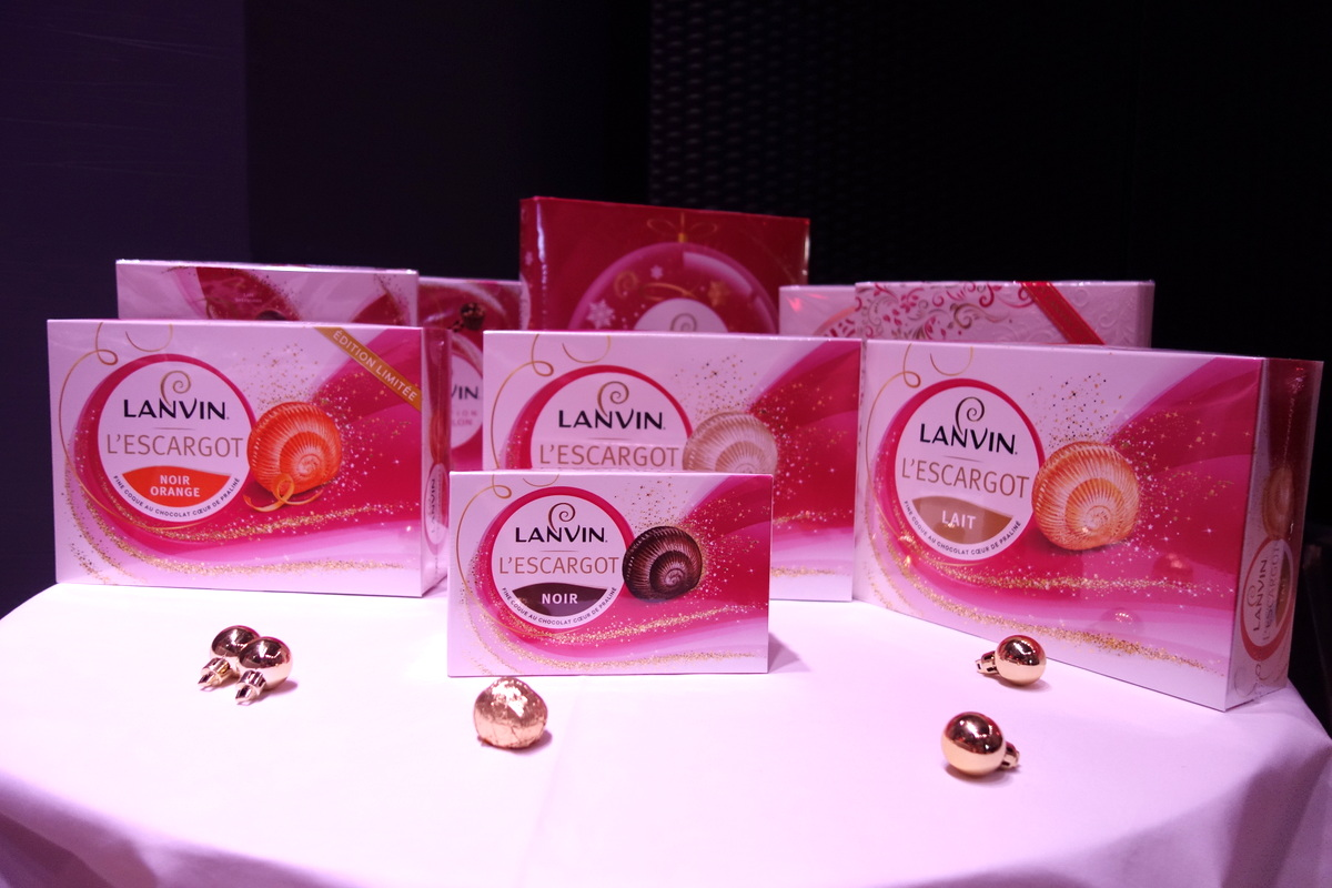 Chocolats Lanvin Noël 2016