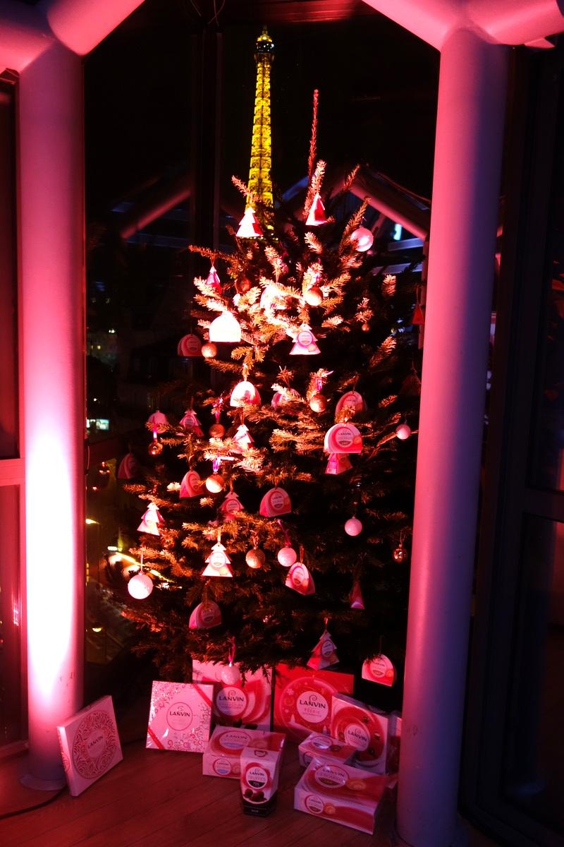 Le sapin de Noël des chocolats Lanvin