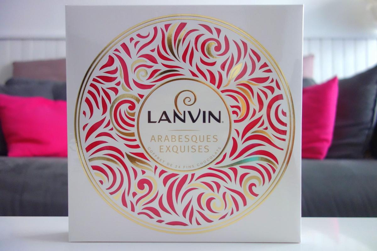 Chocolats Lanvin - Arabesques exquises