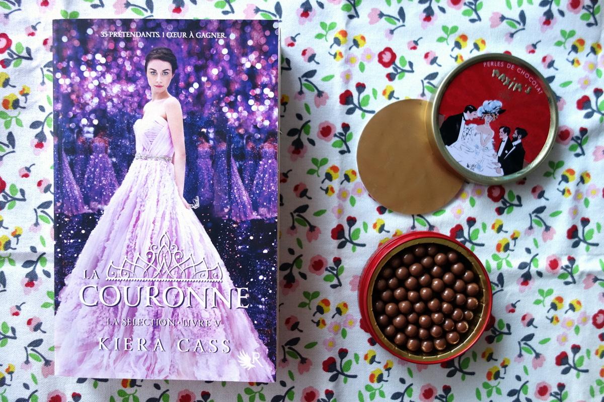 """""""La couronne de Kiera Cass"""" et les perles chocolat Maxim's"""