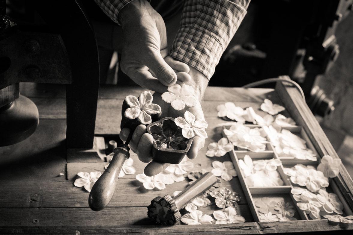Le moulin de la fleuristerie : les moules pour les fleurs - Photo Laurence J