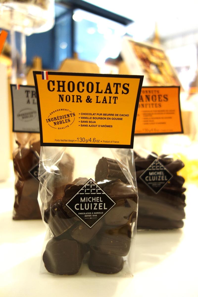 Chocolats noirs et laits Michel Cluizel, Noël 2016