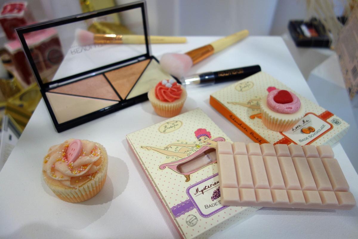 Monoprix Noël 2016 : beauté cupcakes
