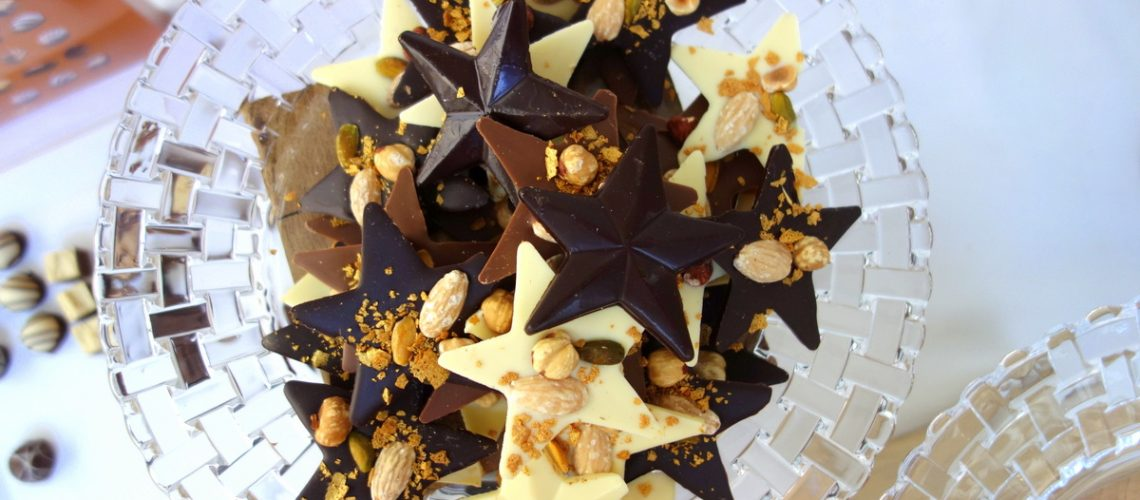Monoprix Noël 2016 : étoiles en chocolat