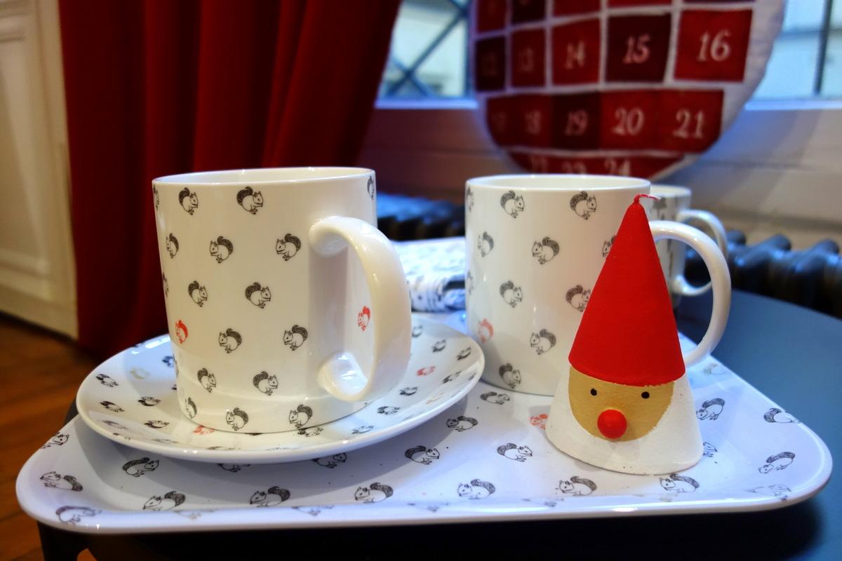 Décoration Monoprix hiver et Noël 2016 : univers givré