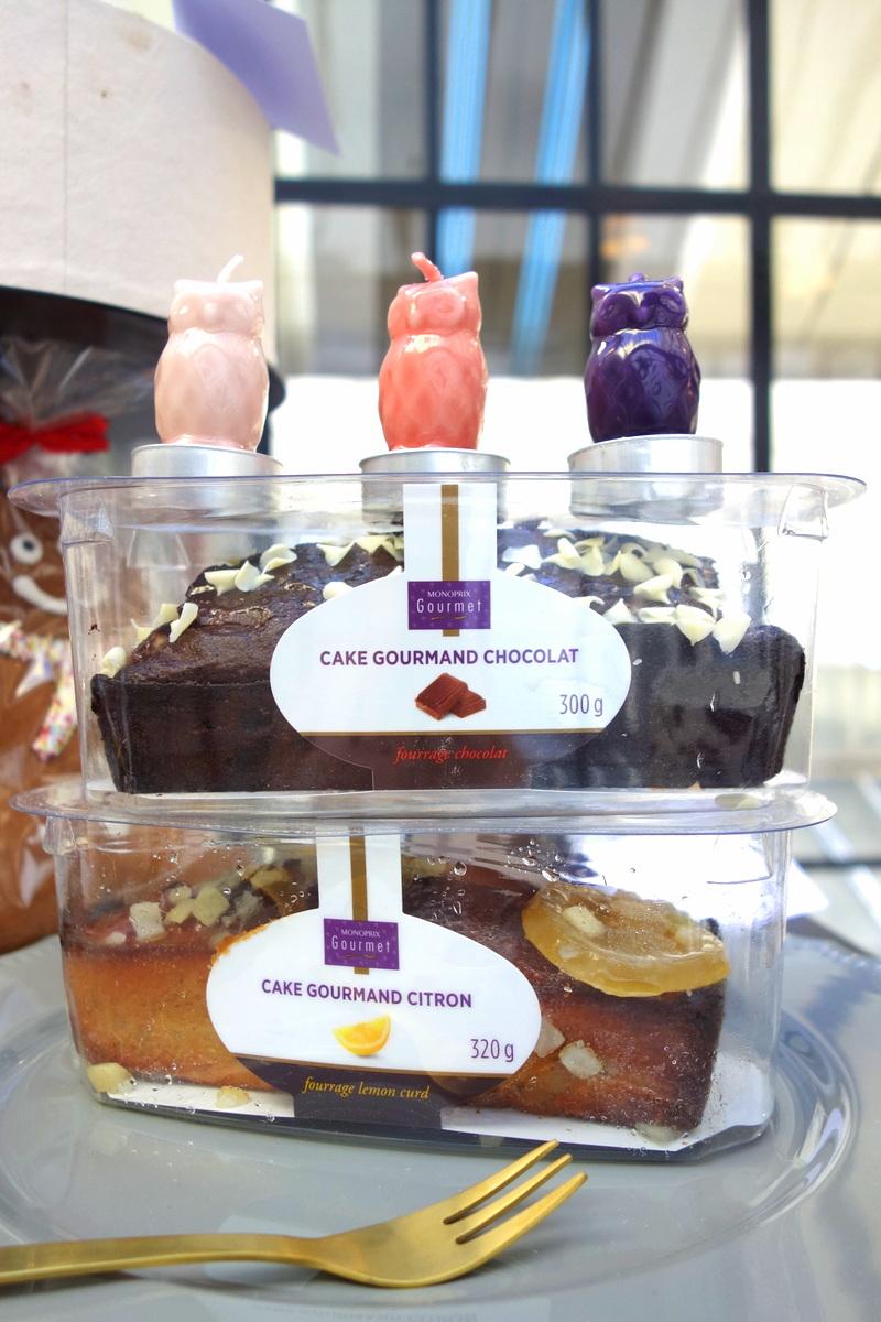 Monoprix Noël 2016 : cakes