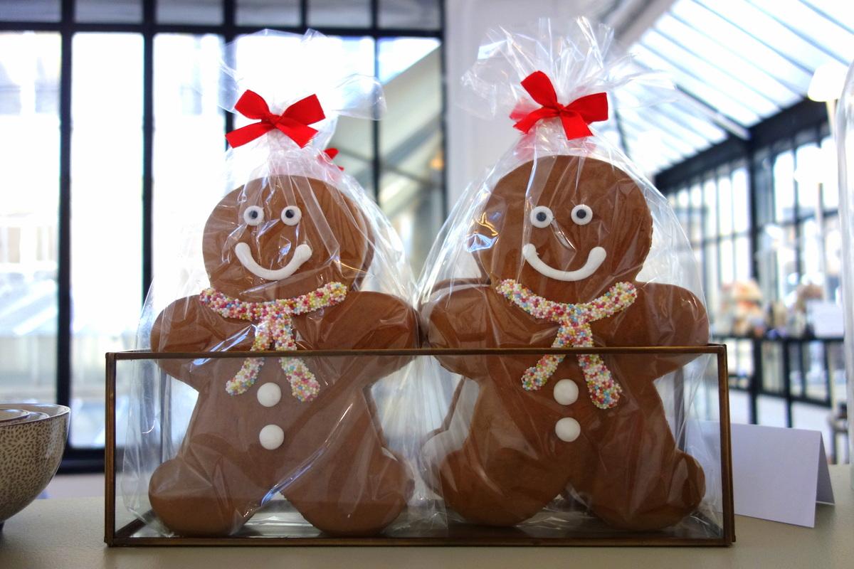 Monoprix Noël 2016 : bonshommes en pain d'épices